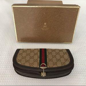 Rare Vintage Gucci Clutch in Original Box